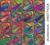 abstract geometric multicolor... | Shutterstock .eps vector #1983774218