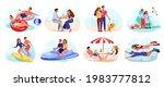 pair of lovers spending summer... | Shutterstock .eps vector #1983777812