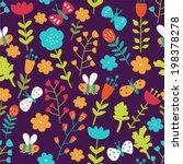 seamless pattern in vector made ...   Shutterstock .eps vector #198378278