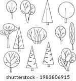 architectural line illustration ... | Shutterstock .eps vector #1983806915