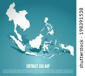 Southeast Asia Map  Aec  Asean...