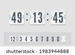 white scoreboard number font...
