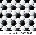 seamless repeating football... | Shutterstock .eps vector #198397832