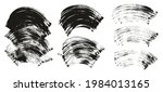 flat fan brush thick curved... | Shutterstock .eps vector #1984013165