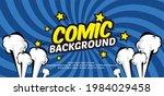 pop art comic background with... | Shutterstock .eps vector #1984029458