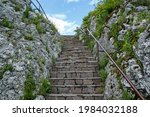 old stone stairs among the...   Shutterstock . vector #1984032188