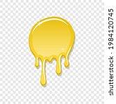 drip paint spot 3d  isolated...   Shutterstock .eps vector #1984120745