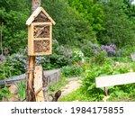 Bug Hotels In A Garden  A...