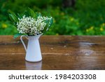 Beautiful Bouquet Of Lilies Of...