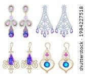 illustration set of jewelry...   Shutterstock .eps vector #1984227518