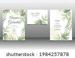 wedding invitation card...   Shutterstock .eps vector #1984257878