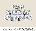 70s retro groovy hippie slogan...   Shutterstock .eps vector #1984280162