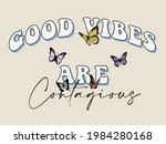 70s retro groovy hippie slogan...   Shutterstock .eps vector #1984280168
