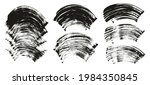 flat fan brush thick curved... | Shutterstock .eps vector #1984350845