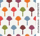 geometric motif minimal print.... | Shutterstock .eps vector #1984383785