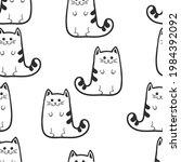 cats. fat cats or kittens....   Shutterstock . vector #1984392092