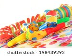 carnival decoration | Shutterstock . vector #198439292