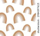 a boho rainbow. for fabrics ...   Shutterstock . vector #1984397615