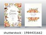 wedding invitation card...   Shutterstock .eps vector #1984431662