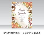 wedding invitation card...   Shutterstock .eps vector #1984431665