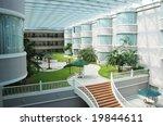 the indoor garden in a luxury... | Shutterstock . vector #19844611