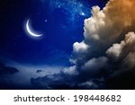 eid mubarak background with...   Shutterstock . vector #198448682