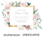 silver sage and blush pink...   Shutterstock .eps vector #1984514945