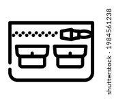 universal pocket line icon... | Shutterstock .eps vector #1984561238
