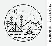camping nature adventure wild...   Shutterstock .eps vector #1984575752