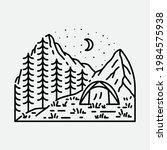 camping nature adventure wild...   Shutterstock .eps vector #1984575938