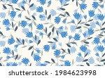 seamless floral pattern based...   Shutterstock .eps vector #1984623998