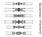 set of vector graphic elements...   Shutterstock .eps vector #1984650788