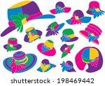 hats | Shutterstock .eps vector #198469442