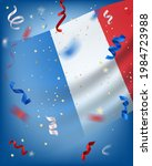 bastille day vector card with... | Shutterstock .eps vector #1984723988