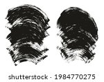 flat fan brush thick curved...   Shutterstock .eps vector #1984770275