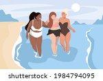 body positive concept. in... | Shutterstock .eps vector #1984794095