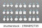 white blank advertising... | Shutterstock .eps vector #1984892735