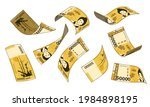 korean currency  different... | Shutterstock .eps vector #1984898195