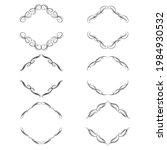 set of vector graphic elements...   Shutterstock .eps vector #1984930532