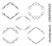 set of vector graphic elements...   Shutterstock .eps vector #1984930535