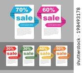 sale template | Shutterstock .eps vector #198493178