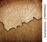 cracked wood board  | Shutterstock . vector #198494042