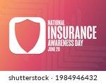 national insurance awareness...   Shutterstock .eps vector #1984946432