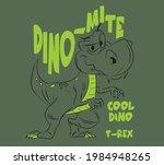vector dino mite t rex... | Shutterstock .eps vector #1984948265