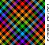 plaid pattern vector. colorful... | Shutterstock .eps vector #1984949045