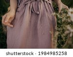 Beautiful Linen Dress With...