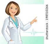 female doctor | Shutterstock .eps vector #198510266