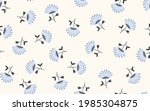seamless floral pattern based...   Shutterstock .eps vector #1985304875