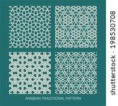 traditional arabian pattern.    Shutterstock .eps vector #198530708