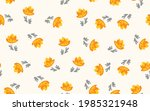 seamless floral pattern based...   Shutterstock .eps vector #1985321948